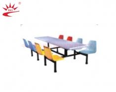 八人座靠背椅餐桌
