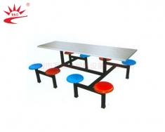 八人座圆椅餐桌