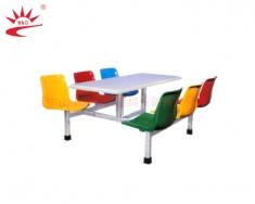 六人座靠背椅餐桌